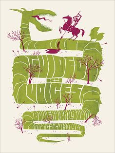 Guided By Voices gig poster by Spike Press