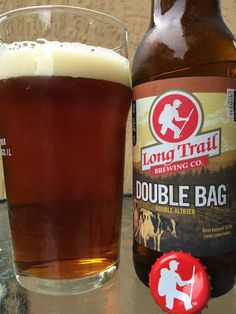 Double Bag Double Altbier • Malty, herbal, caramel aroma. Similar flavors full of sweet caramel and herbal tea. Tons of buttery toasted bread follow, even that brown bread. Creamy texture. There is a tangy orange bitter thing going on at the finish too.  Very interesting and different. Of the 4 great beers we tasted today, my wife decided the rest of this bottle was hers! Winner! Check it out!