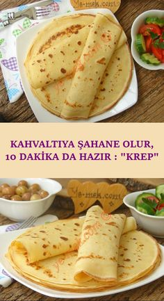 Turkish Recipes, Ethnic Recipes, Egg Dish, Homemade Beauty Products, Crepes, Waffles, Brunch, Food And Drink, Health Fitness