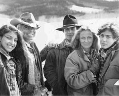 Ralph Lauren and family on the ranch...