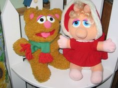McDonald's Muppet Babies 80s-and-90s-toys-n-stuff. I have Miss Piggy still in a box somewhere!