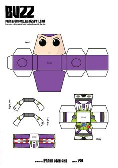 PaperToy_Disney Buzz