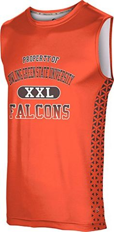 Mens Bowling Green State University Community College Geometric Sleeveless Tech Tee ** Details can be found by clicking on the image.