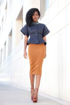 Long Sleeve Faux Wrap Blouse + Wide Leg Trousers | Style Pantry - Your fashion, culture and lifestyle stockist | Bloglovin'