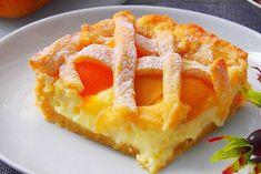 Персиковый пирог «Нежный» Sweet Pie, Russian Recipes, Sweet Desserts, Coffee Cake, Cake Recipes, Bakery, Deserts, Good Food, Food And Drink