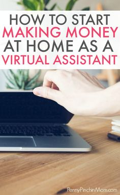 Make money working as a VA -- right from home! The perfect work at home job for moms or if you want to supplement your income (and quit your day job). Home Based Business, Business Tips, Online Business, Business Quotes, Make Money From Home, Way To Make Money, Virtual Assistant Jobs, How To Become, How To Get