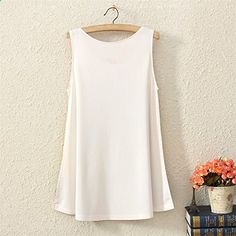 YICHUN Womens Sleeveless Tshirts Tops Casual Vintage Vest Tank. More description on the website.