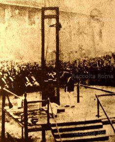 Via dei Cerchi. Esecuzione capitale di Monti e Tognetti Anno: 24 Novembre 1868