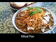 Misal Pav-How to make Misal Pav-Maharashtrian Misal pav Recipe