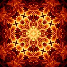 douce chaleur de l'émotion warmte van de emotie calor da emoção warmth of emotion calor de la emoción Mandala de Pierre Vermersch