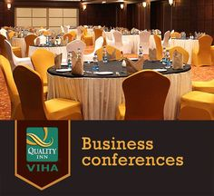 Business conferences in Kumbakonam? Fret not, Quality Inn Viha's spacious conference halls will take care of it! #Qualityinnviha #Hotelsinkumbakonam