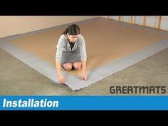 HiddenLock PVC Tile Installation Video