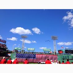 Opening Day Fenway Park