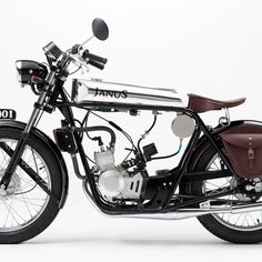 Ride like the wind on a brand new, old-school motorbike