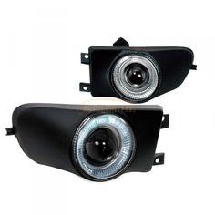 Spec-D LFP-E3997H-YL | 2000 BMW 5 Series Chrome/Clear Projector Fog Lights for Sedan