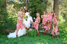 I do want to do this with my bridesmaids!!!