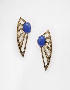 ASOS+Wing+Stud+Earrings