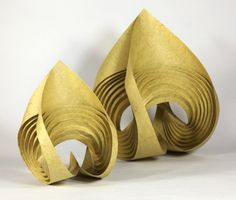 Fuller Craft Series (2011): Curved-Crease Escultura de Erik y Martin Demaine