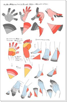Quick tutorial on hands and feet