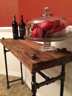 Hey, I found this really awesome Etsy listing at https://www.etsy.com/listing/211774089/reclaimed-barn-wood-sofa-table