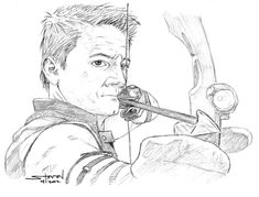 The Avengers Hawkeye By StevenWilcox On DeviantART Colouring PagesHawkeyeThe