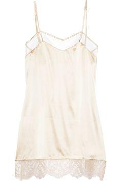 STELLA MCCARTNEY  Josephine Marrying silk-satin chemise
