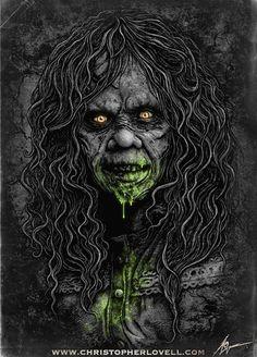 The Exorcist - By Christopher Lovell Art by Lovell-Art.deviantart.com on @deviantART