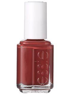 Essie: Honey Bun. A warm mauve nail polish perfect for fall.