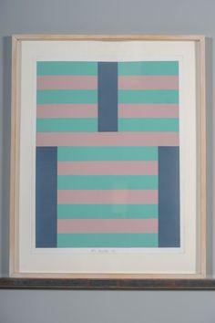 Paul Osipow, akryyli paperille, 1977, 68x52 cm - Huutokauppa Helander 09/2015