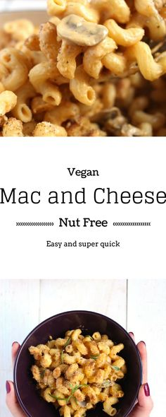 Vegan Mac and Cheese   Up your super bowl game up with this awesome dairy-free mac and cheese   Brokefoodies.com