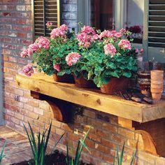 2005 Louisiana Idea House | IDEA #7: Build a Plant Shelf | SouthernLiving.com