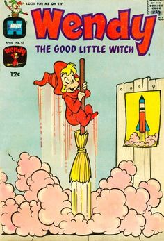 Wendy the Good Little Witch comic.