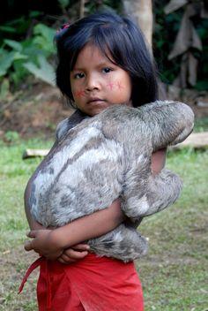 Yagua tribe , Peruvian Amazon