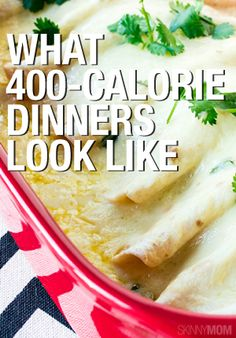 Great meals for 400 calories or less!