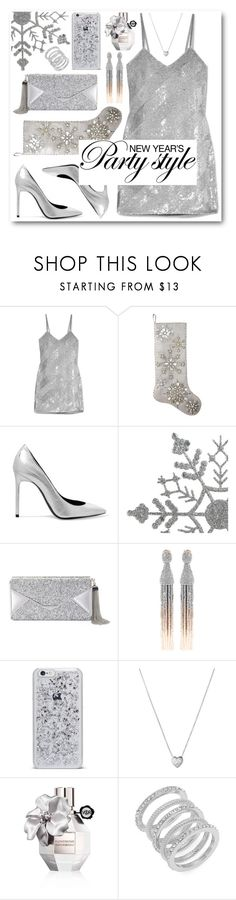 """New Year's Party Style"" by alexa-girl2 ❤ liked on Polyvore featuring Ashish, Kim Seybert, Yves Saint Laurent, BCBGMAXAZRIA, Oscar de la Renta, Links of London, Viktor & Rolf and Cole Haan"