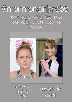 Mormon dances be like #mormongirlprobs