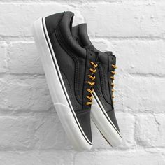 663f4b3f1a Vans Old Skool Reissue CA Leather Black   Vanilla Ice California Collection  £69.99 Skate Shoes