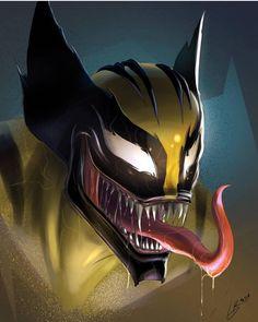 Likes, 284 Comments - Marvel Art Venom, Venom Comics, Marvel Comics Art, Logan Wolverine, Cat Comics, Marvel Villains, Marvel Heroes, Marvel Characters, Yuyu Hakusho