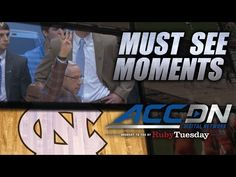 UNC Runs Four Corners Offense to Honor Dean Smith | ACC Must See Moment - YouTube