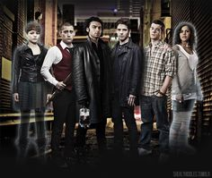 Being Human casts 1.0 and 2.0.