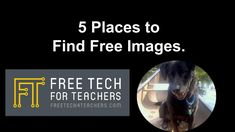 Free Technology for Teachers: 5 Ways Students Can Find Free Images Teaching Technology, Technology Integration, Digital Technology, Educational Technology, Photos For Class, Creative Commons Photos, Websites For Students, Computational Thinking, Digital Story