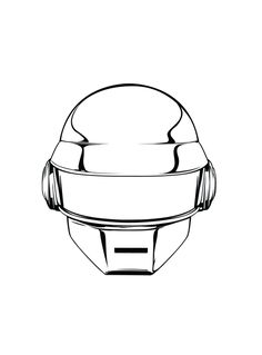 Daft Punk Animated Version Fan Art