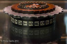Enigma, Bletchley Park, England. https://sites.google.com/site/warrenbellauthor/