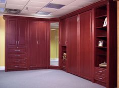 Wall bed with wardrobe units (closed) Murphy Bed Ikea, Murphy Bed Plans, Bed With Wardrobe, Bed Wall, Custom Cabinetry, Two Bedroom, Storage Solutions, Ikea Ideas, Shelving
