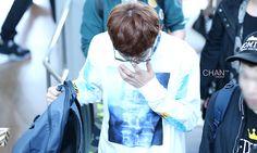 Chanyeol wearing HBA