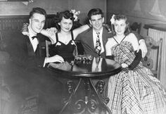 Marquette students at a dance, Milwaukee, ca. 1942-1945. via:...