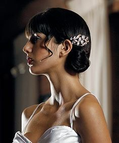 Silver Coloured Jewel Hair Comb With Pearls *** This is an Amazon Affiliate link. Find out more about the great product at the image link.