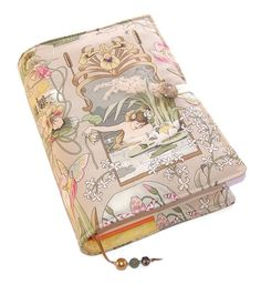 Large Bible Cover, Fabric Book Cover, Suitable for Hardback Books or Paperback books, Art Nouveau Princess and Frog, UK Seller
