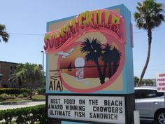 Sending out an A1A-tomic THANK YOU to Sunset Grille (421 A1A Beach Blvd., St. Augustine Beach) who became Summit Sponsors today for our Indiegogo launch of Passport to Explore A1A! Three cheers for Sunset Grille; Hip, Hip, Hooray! #SunsetGrilleA1A #ExploreA1A #LoveFL
