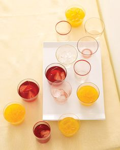 20 Mocktail Recipes - Perfect for baby showers!